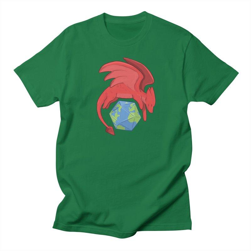 DnD Earth Day Men's Regular T-Shirt by DnDoggos's Artist Shop