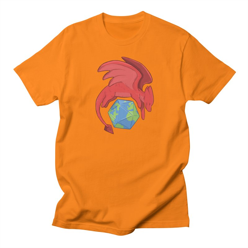 DnD Earth Day Men's Regular T-Shirt by DnDoggos's Artist Shop
