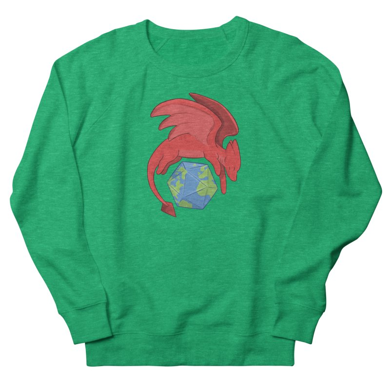 DnD Earth Day Women's Sweatshirt by DnDoggos's Artist Shop