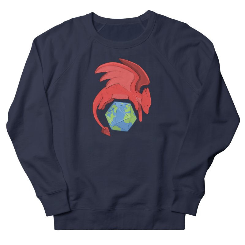 DnD Earth Day Women's French Terry Sweatshirt by DnDoggos's Artist Shop