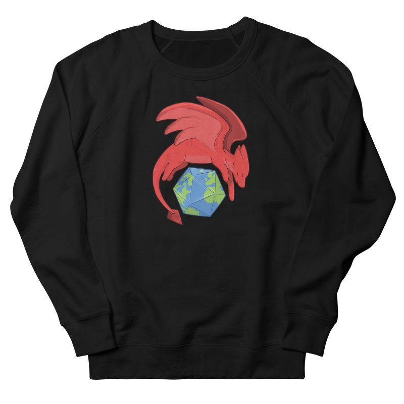 DnD Earth Day Men's French Terry Sweatshirt by DnDoggos's Artist Shop