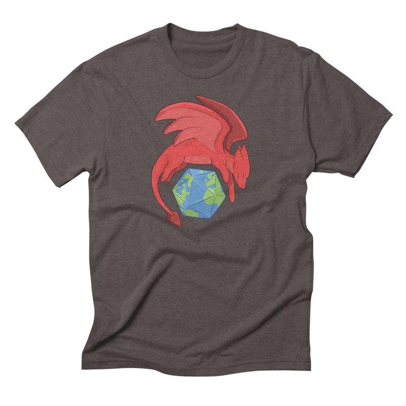 DnD Earth Day Men's Triblend T-Shirt by DnDoggos's Artist Shop
