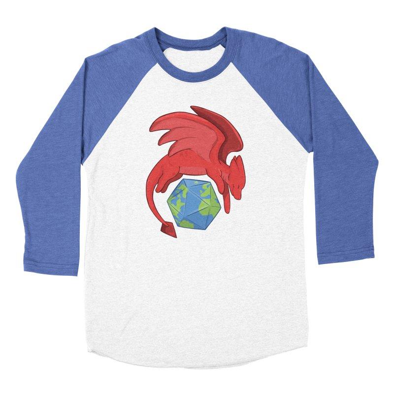 DnD Earth Day Women's Baseball Triblend Longsleeve T-Shirt by DnDoggos's Artist Shop
