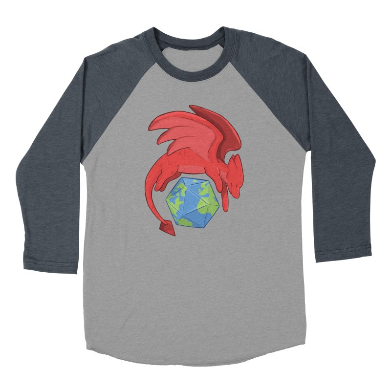 DnD Earth Day Women's Baseball Triblend Longsleeve T-Shirt by DnDoggos's Artist Shop
