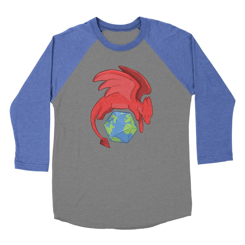DnD Earth Day Men's Baseball Triblend Longsleeve T-Shirt by DnDoggos's Artist Shop
