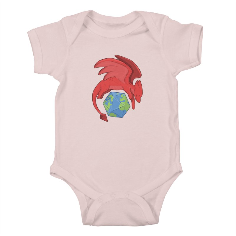DnD Earth Day Kids Baby Bodysuit by DnDoggos's Artist Shop