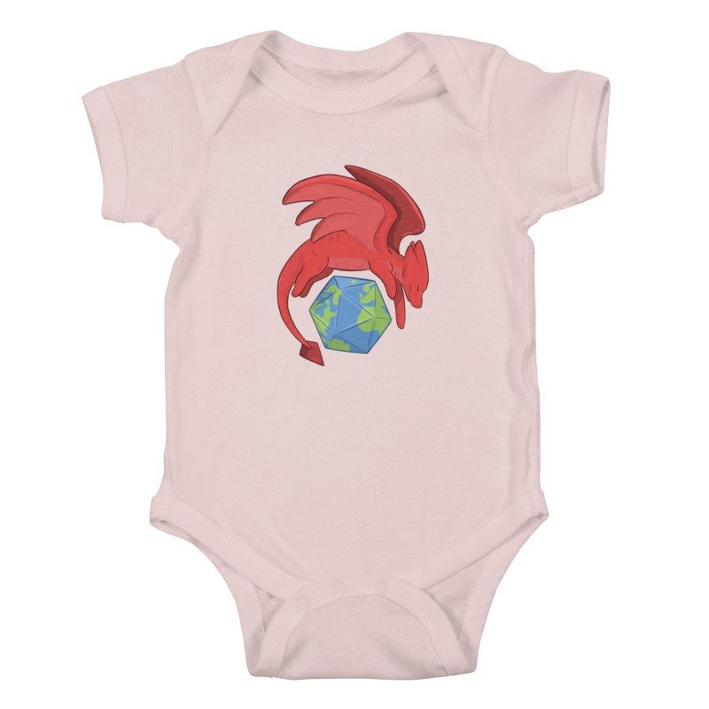 DnD Earth Day Kids Baby Bodysuit by DnDoggos's Artist Shop