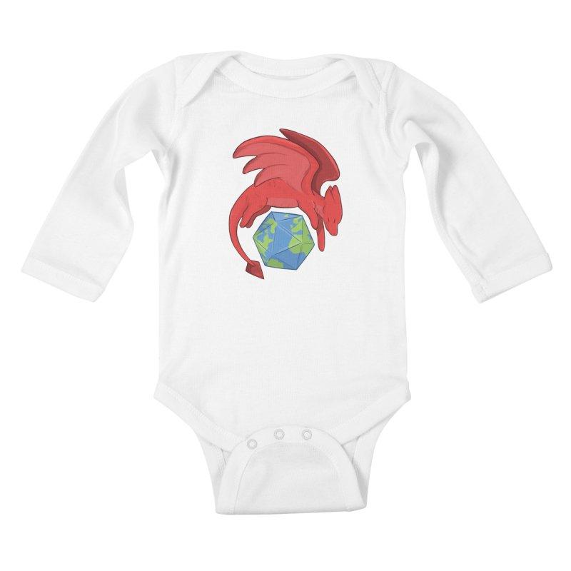 DnD Earth Day Kids Baby Longsleeve Bodysuit by DnDoggos's Artist Shop