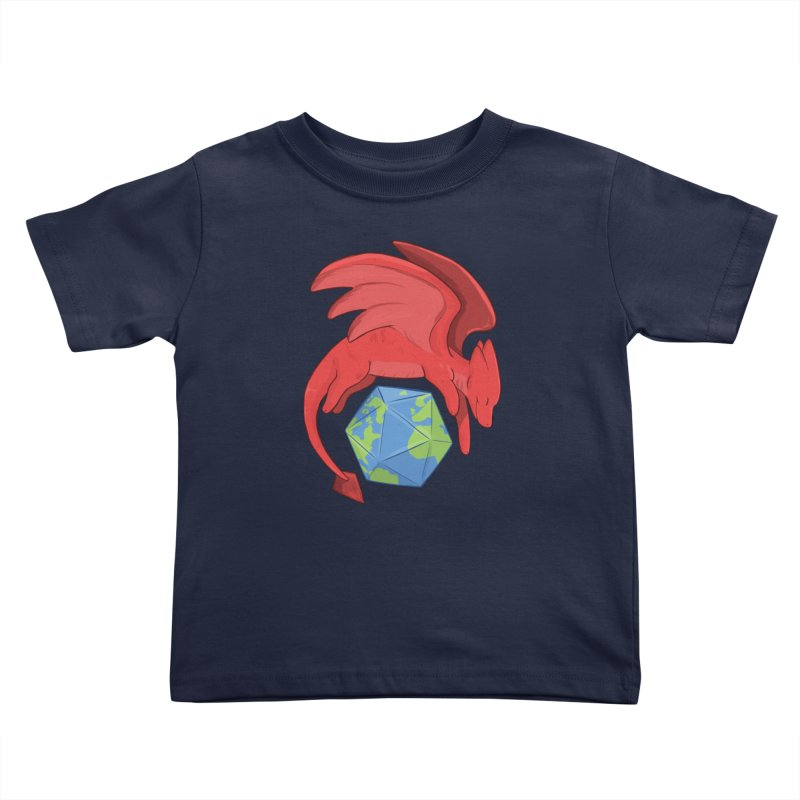 DnD Earth Day Kids Toddler T-Shirt by DnDoggos's Artist Shop