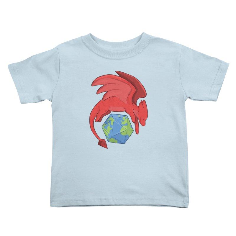 DnD Earth Day Kids Toddler T-Shirt by DnDoggos's Artist Shop
