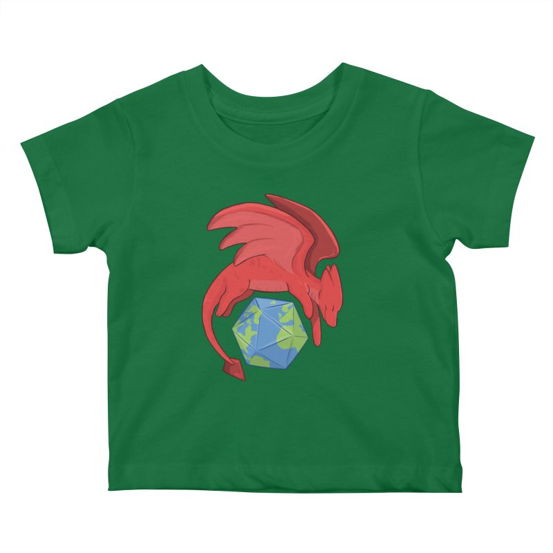 DnD Earth Day Kids Baby T-Shirt by DnDoggos's Artist Shop