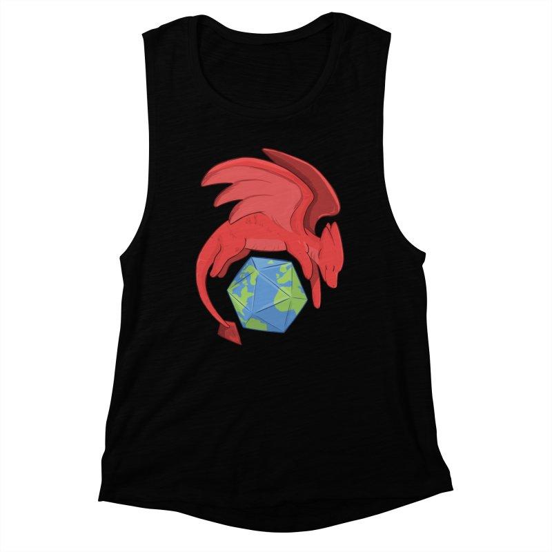 DnD Earth Day Women's Muscle Tank by DnDoggos's Artist Shop