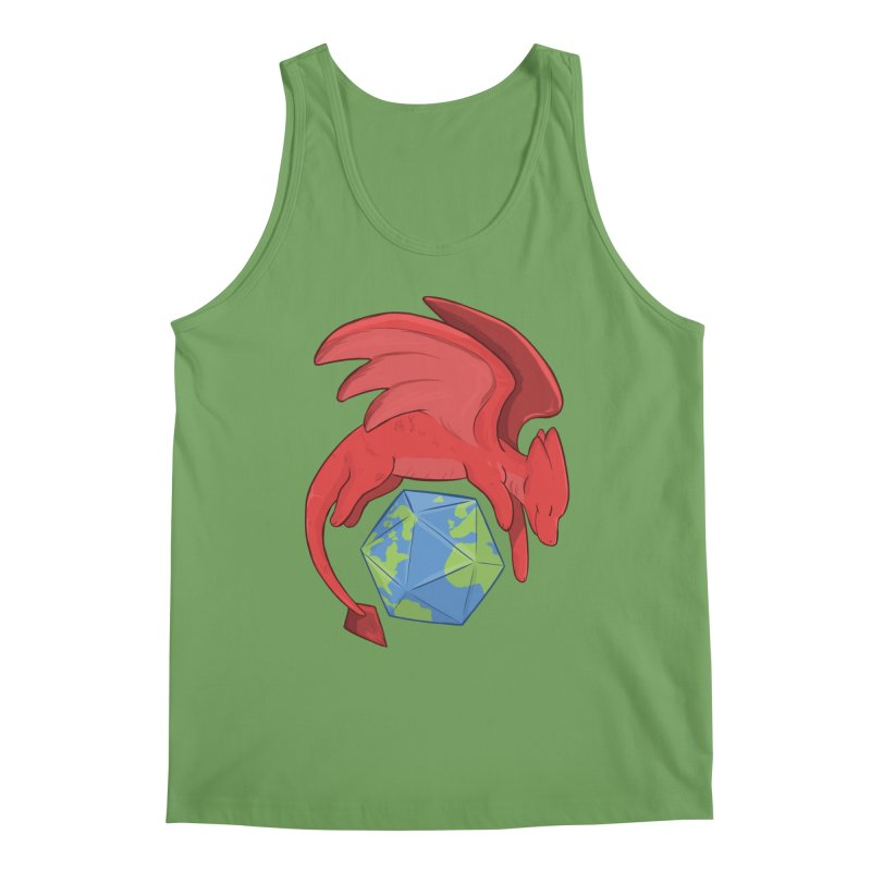 DnD Earth Day Men's Tank by DnDoggos's Artist Shop