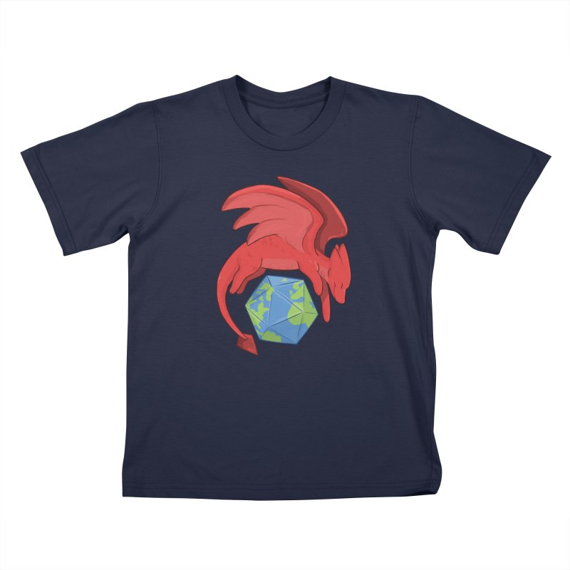 DnD Earth Day Kids T-Shirt by DnDoggos's Artist Shop