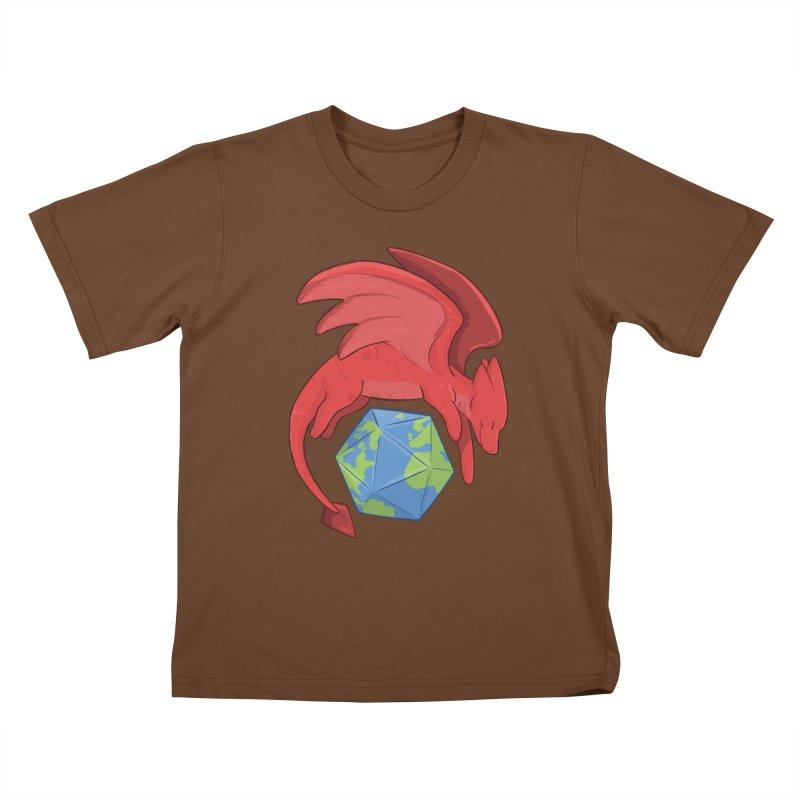 DnD Earth Day Kids T-Shirt by DnDoggos's Artist Shop