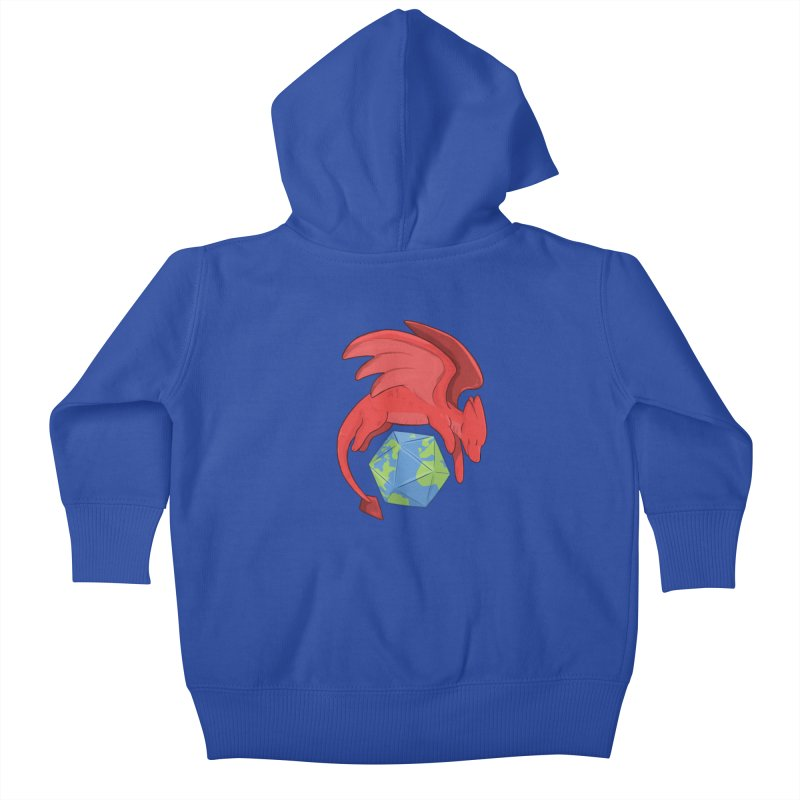 DnD Earth Day Kids Baby Zip-Up Hoody by DnDoggos's Artist Shop