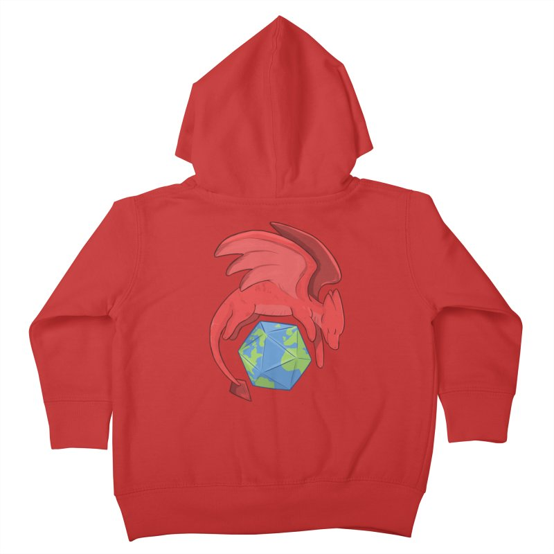 DnD Earth Day Kids Toddler Zip-Up Hoody by DnDoggos's Artist Shop