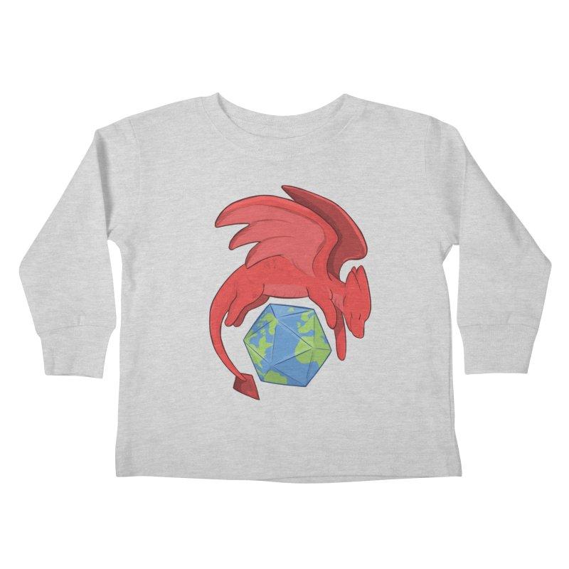DnD Earth Day Kids Toddler Longsleeve T-Shirt by DnDoggos's Artist Shop
