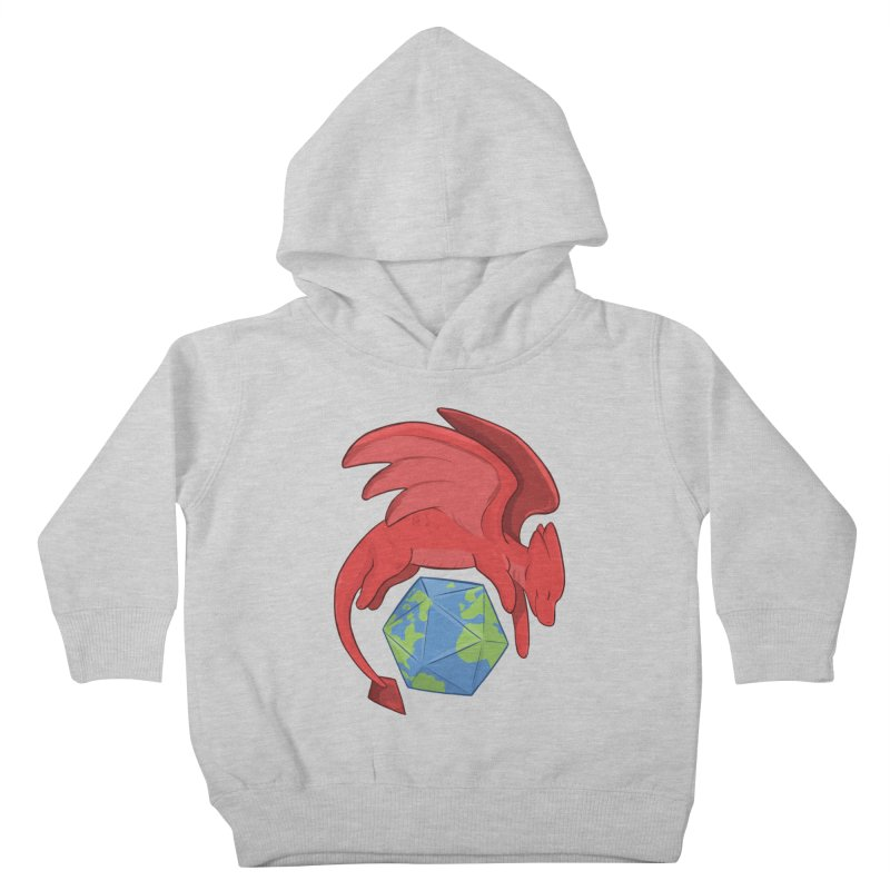 DnD Earth Day Kids Toddler Pullover Hoody by DnDoggos's Artist Shop