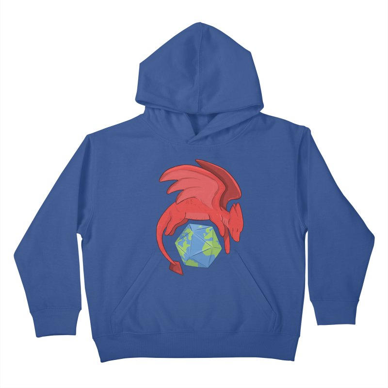 DnD Earth Day Kids Pullover Hoody by DnDoggos's Artist Shop