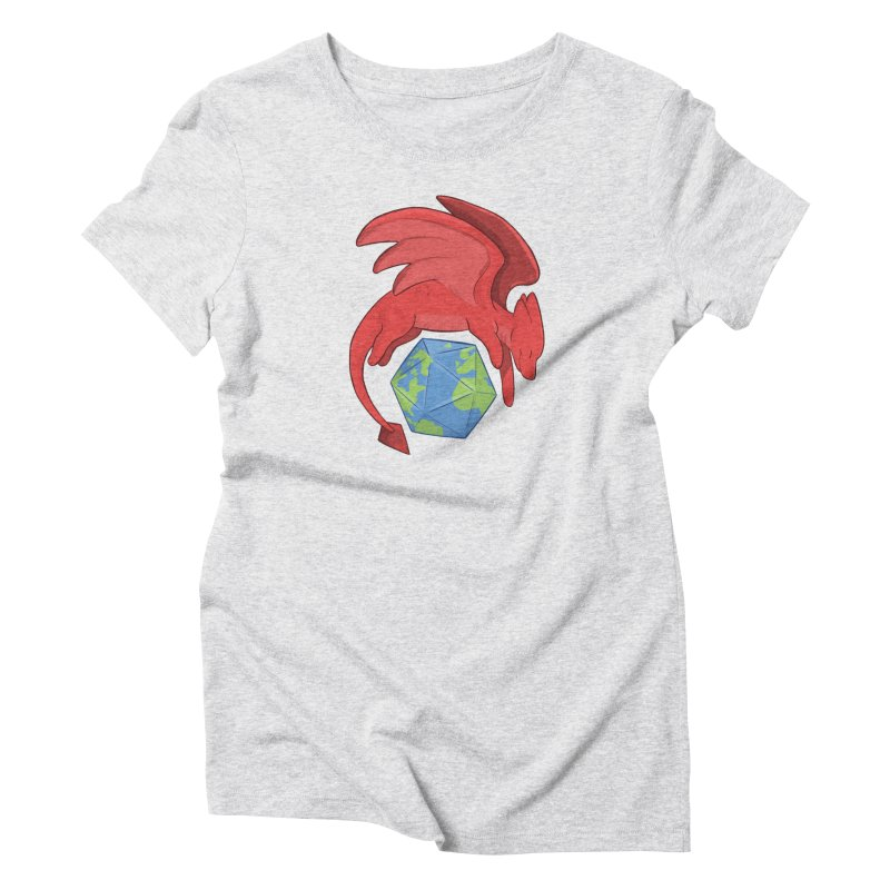 DnD Earth Day Women's T-Shirt by DnDoggos's Artist Shop