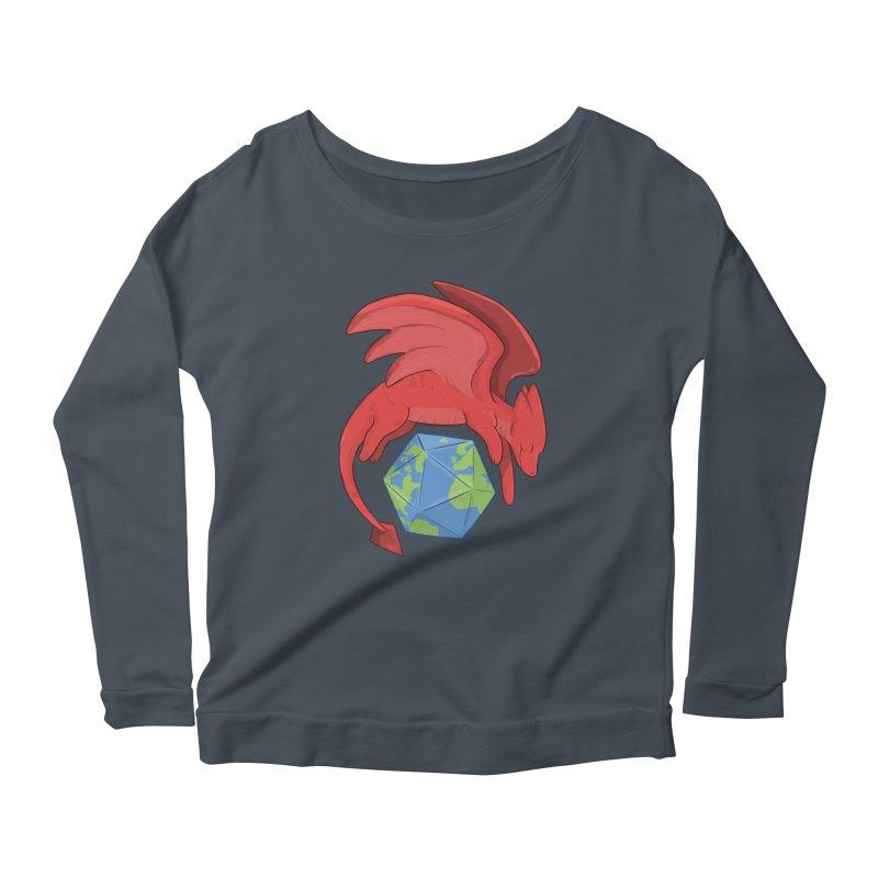 DnD Earth Day Women's Scoop Neck Longsleeve T-Shirt by DnDoggos's Artist Shop
