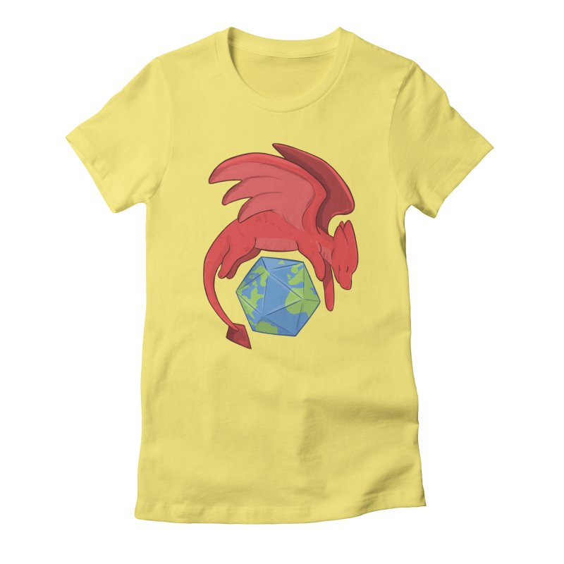 DnD Earth Day Women's Fitted T-Shirt by DnDoggos's Artist Shop