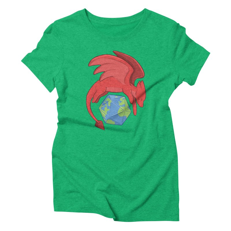 DnD Earth Day Women's Triblend T-Shirt by DnDoggos's Artist Shop