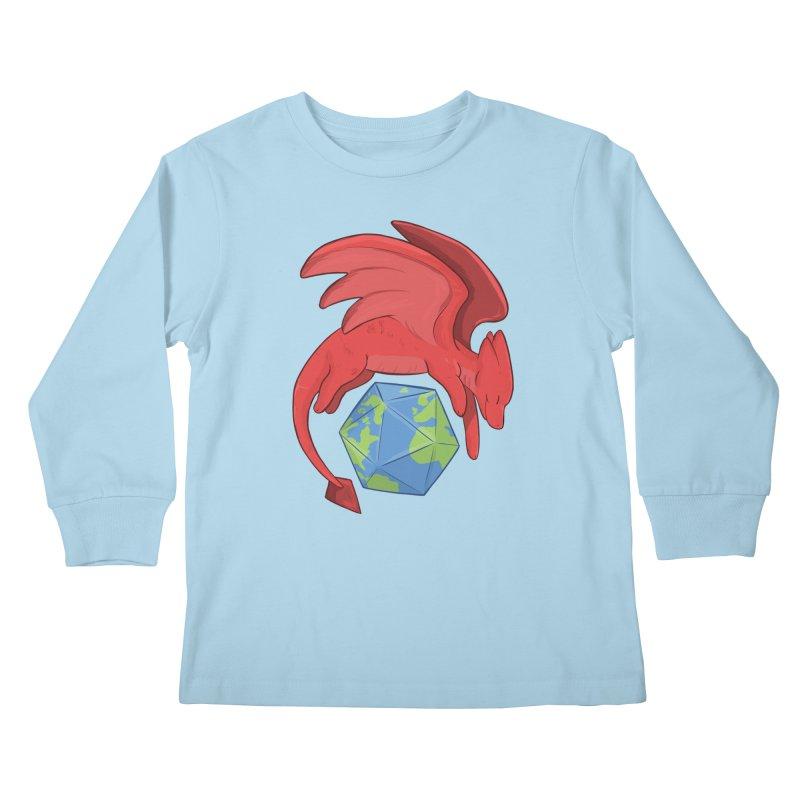 DnD Earth Day Kids Longsleeve T-Shirt by DnDoggos's Artist Shop