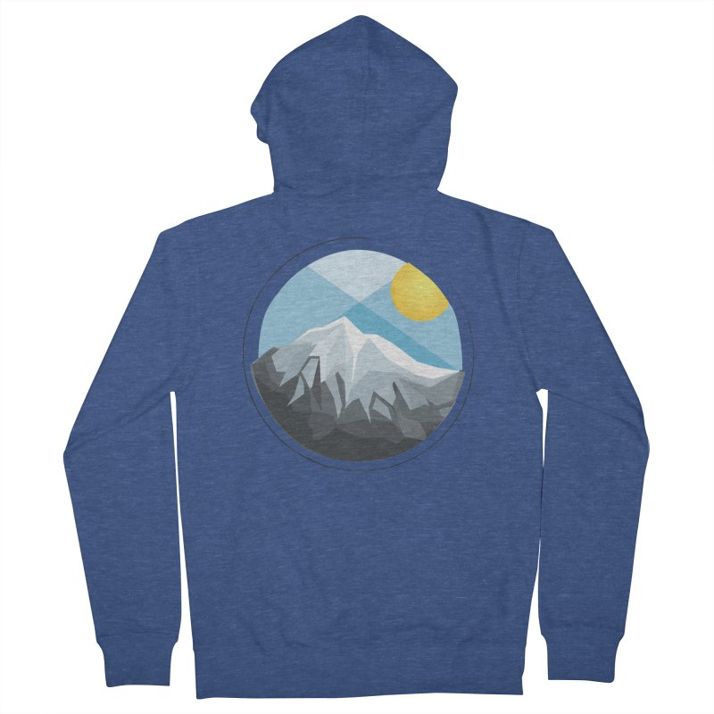 Summer Summit Men's Zip-Up Hoody by dnvr's Shop