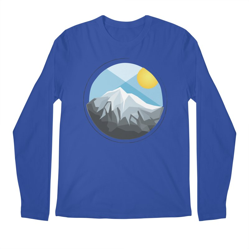Summer Summit Men's Longsleeve T-Shirt by dnvr's Shop