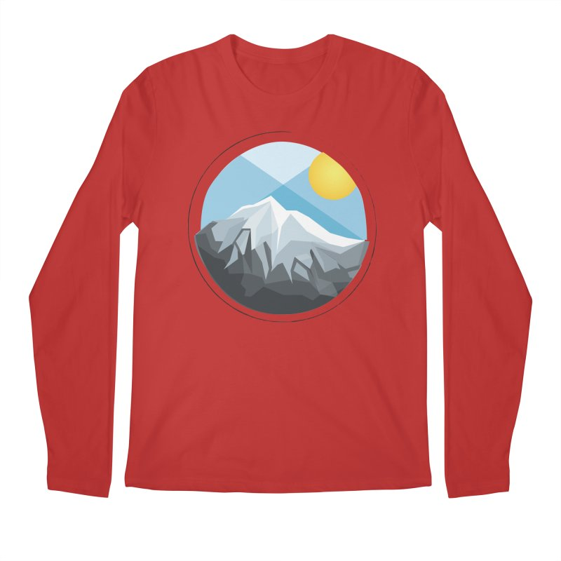Summer Summit Men's Longsleeve T-Shirt by dnvr's Shop