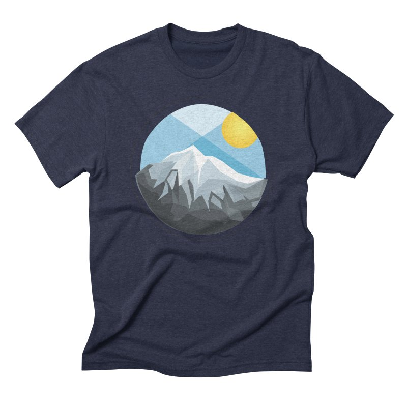 Summer Summit Men's Triblend T-shirt by dnvr's Shop