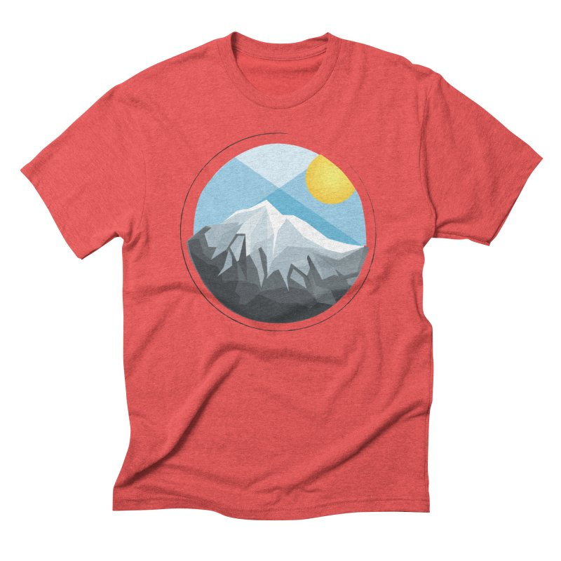 Summer Summit Men's Triblend T-Shirt by dnvr's Shop