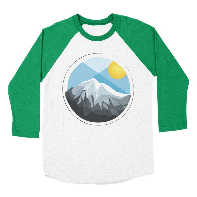 Summer Summit Women's Baseball Triblend T-Shirt by dnvr's Shop