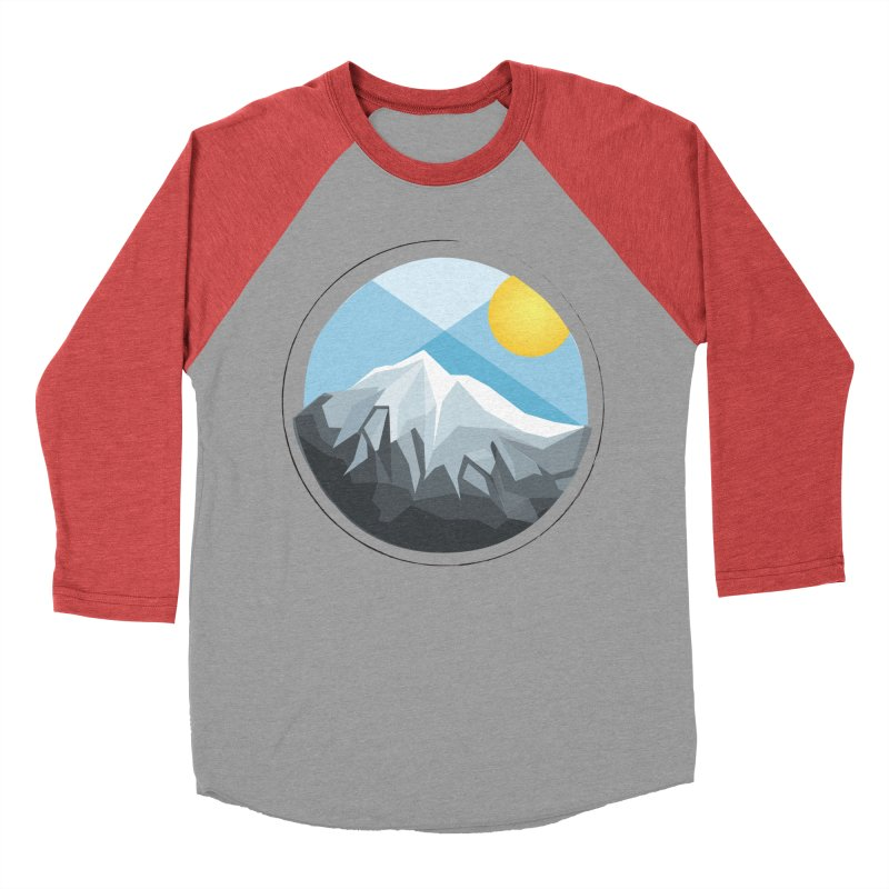 Summer Summit Men's Baseball Triblend T-Shirt by dnvr's Shop