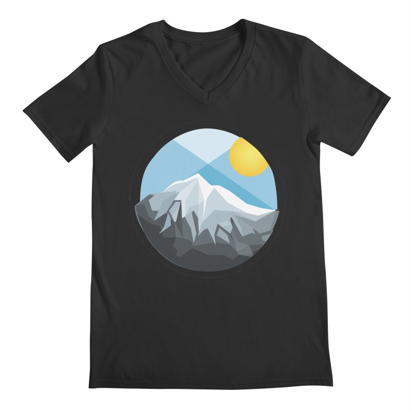 Summer Summit Men's V-Neck by dnvr's Shop