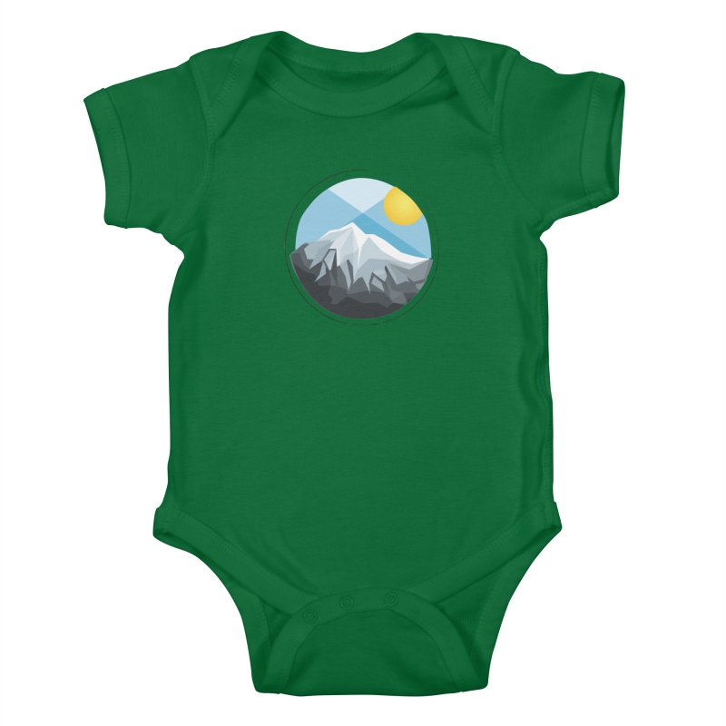 Summer Summit Kids Baby Bodysuit by dnvr's Shop