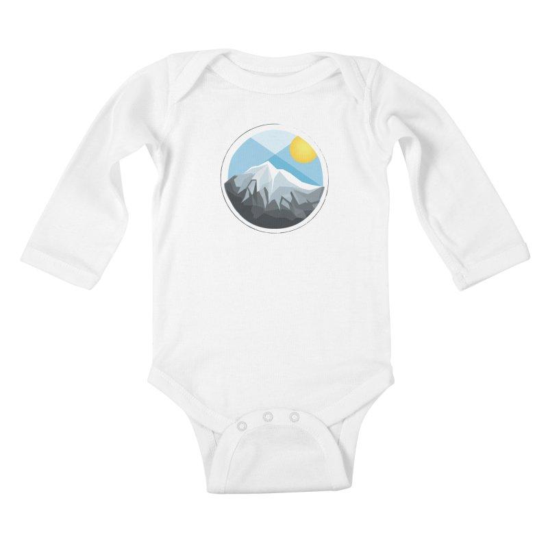 Summer Summit Kids Baby Longsleeve Bodysuit by dnvr's Shop