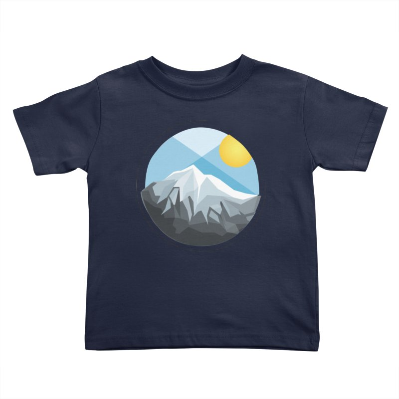 Summer Summit Kids Toddler T-Shirt by dnvr's Shop
