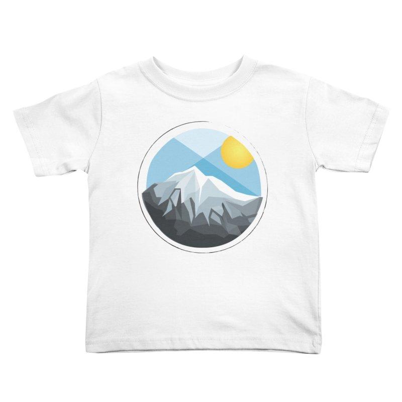 Summer Summit Kids Toddler T-Shirt by dnvr's Shop