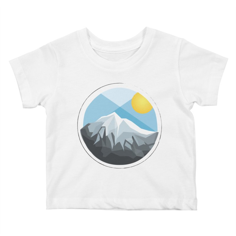 Summer Summit Kids Baby T-Shirt by dnvr's Shop