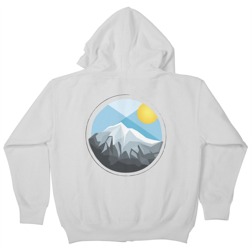 Summer Summit Kids Zip-Up Hoody by dnvr's Shop
