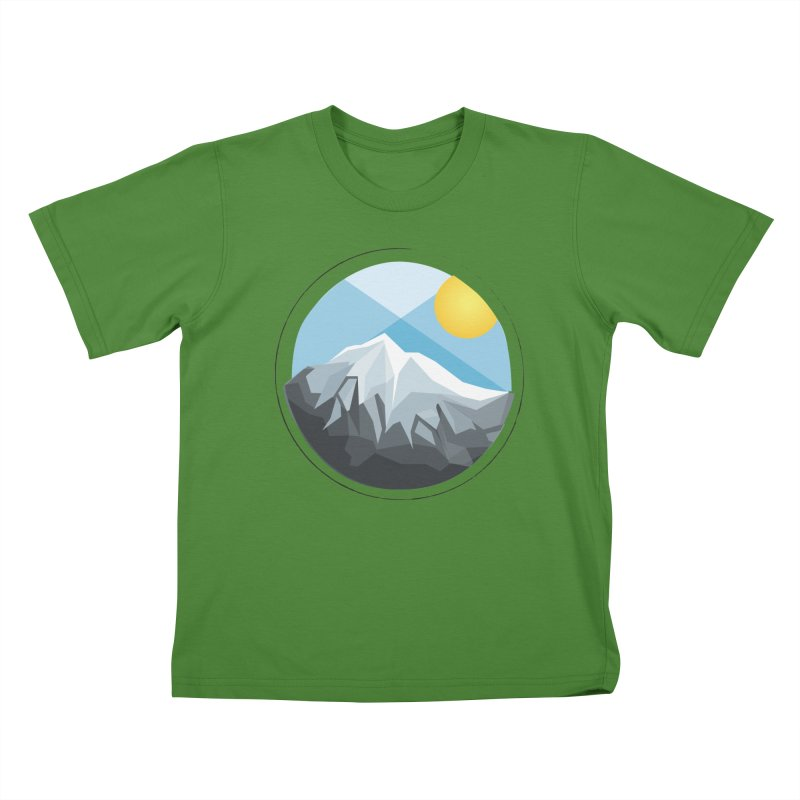 Summer Summit Kids T-shirt by dnvr's Shop
