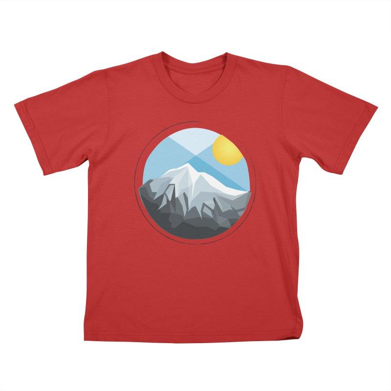 Summer Summit Kids T-shirt by dnvr's Shop