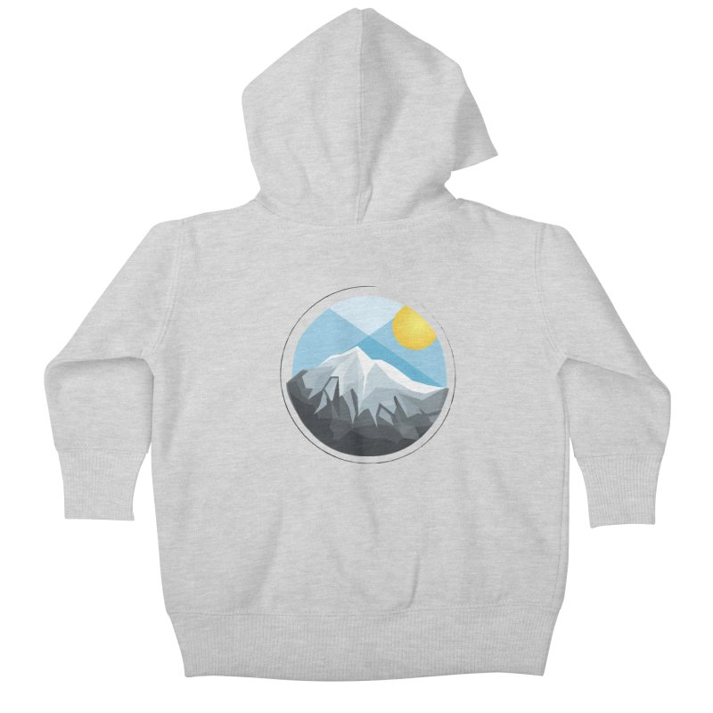 Summer Summit Kids Baby Zip-Up Hoody by dnvr's Shop