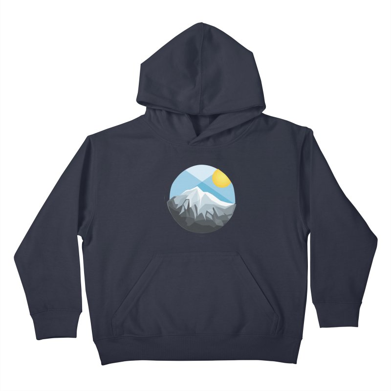 Summer Summit Kids Pullover Hoody by dnvr's Shop