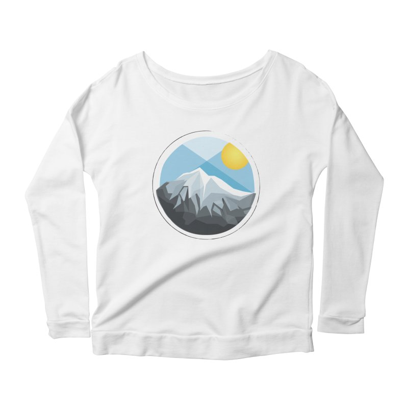 Summer Summit Women's Longsleeve Scoopneck  by dnvr's Shop