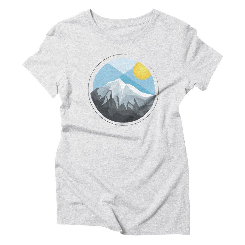Summer Summit Women's Triblend T-shirt by dnvr's Shop