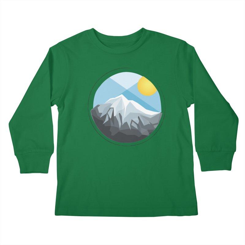 Summer Summit Kids Longsleeve T-Shirt by dnvr's Shop